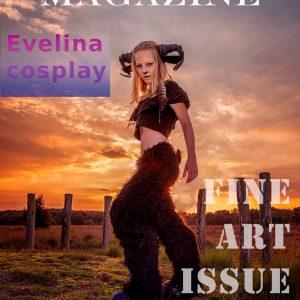 Magazine_Evelina cosplay